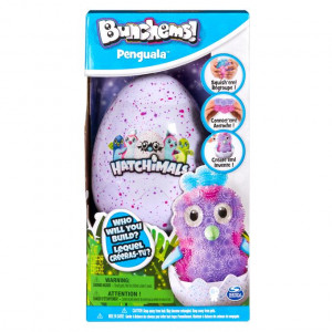 SPIN MASTER RZEPY BUNCHEMS HATCHIMALS PINGWIN 6041479