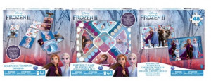 SPIN MASTER FROZEN 2 GRA POP UP + PUZZLE 3D 6053006