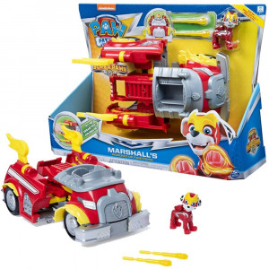 SPIN MASTER PSI PATROL MIGHTY PUPS POJAZD TRANSFORMUJĄCY MARSHALL 6052653