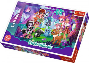 TREFL ENCHANTIMALS PUZZLE 100 EL ZABAWA 16348