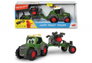 DICKIE HAPPY FENDT TRAKTOR + PRASA DO BELOWANIA 381-5001