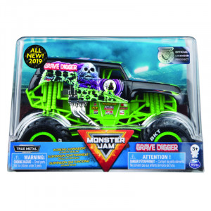 SPIN MASTER MONSTER JAM 1:24 AUTO GRAVE DIGGER 6044869