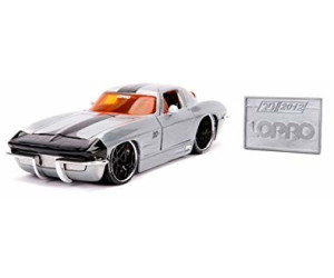 SIMBA JADA AUTO 1963 CHEVY CORVETTE WAVE 2 1:24  374-5006