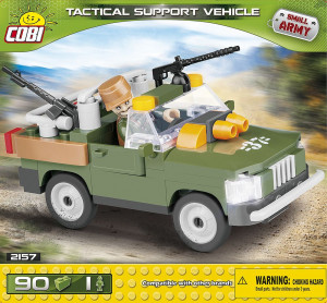 COBI KLOCKI SMALL ARMY TACTICAL SUPPORT AUTO 90 KL 2157
