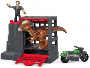 IMAGINEXT JURRASIC WORLD STYGIMOLOCH+FIGURKA FMX88/FMX90